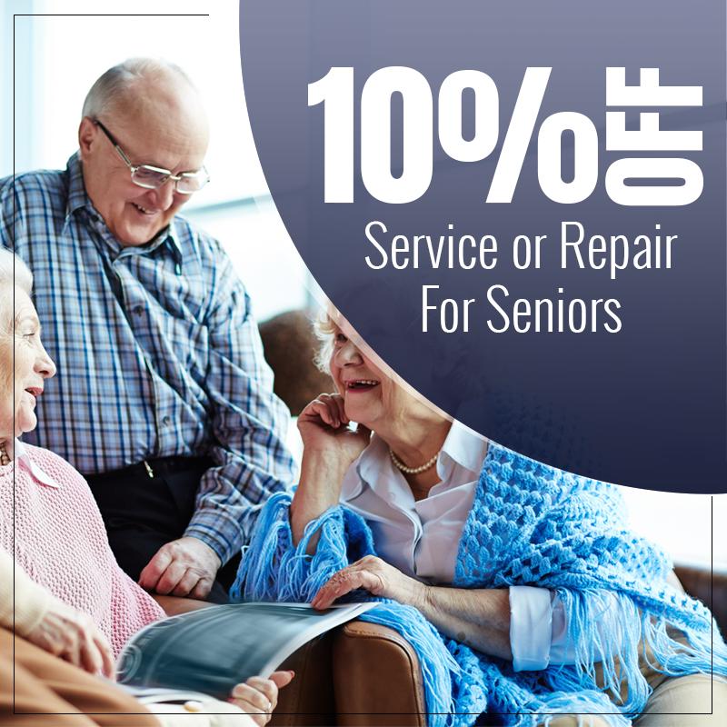 10% off Service or Repair for Seniors